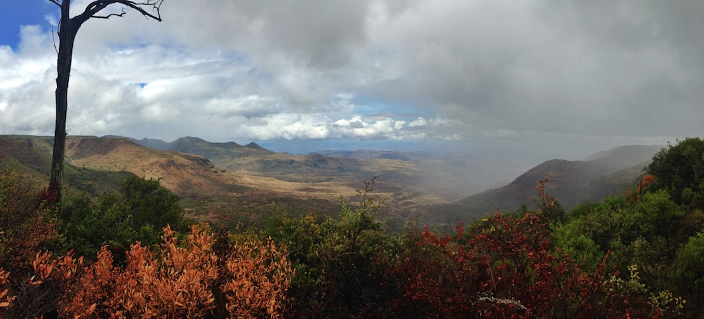 The views from 30km north of Maralal, one of the most stunning views in Kenya