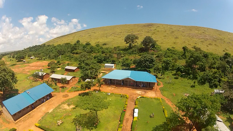 Lingira School from Drone
