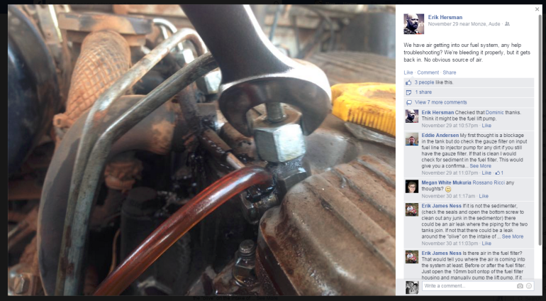 Trying to get help with a buggered 300TDi fuel system