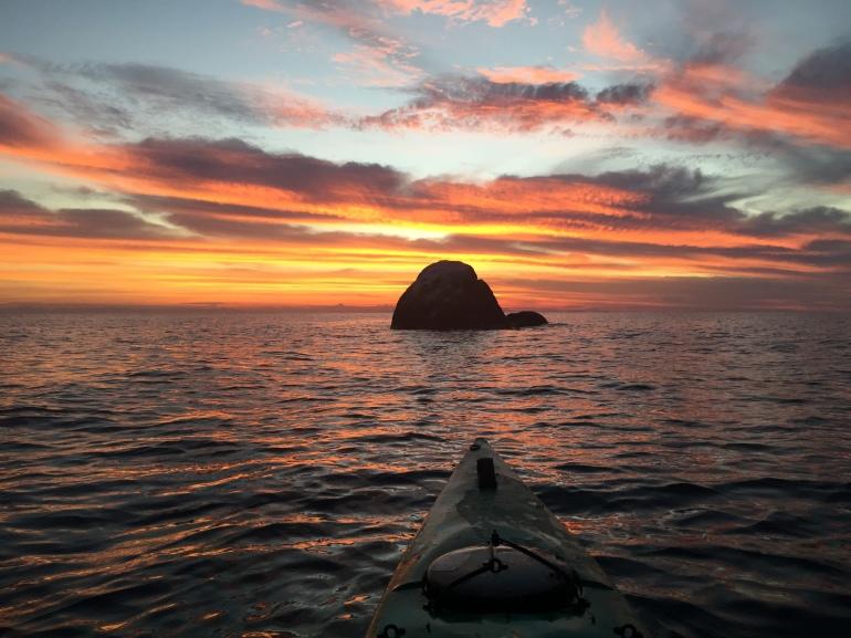 Matt catches this amazing sunrise in Lake Malawi