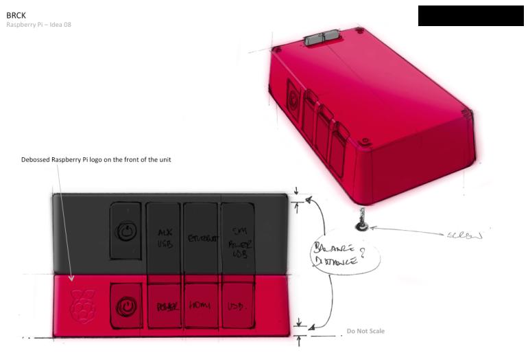 BRCK+Pi - new design concept for production