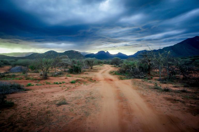 Landscape in Northern Kenya