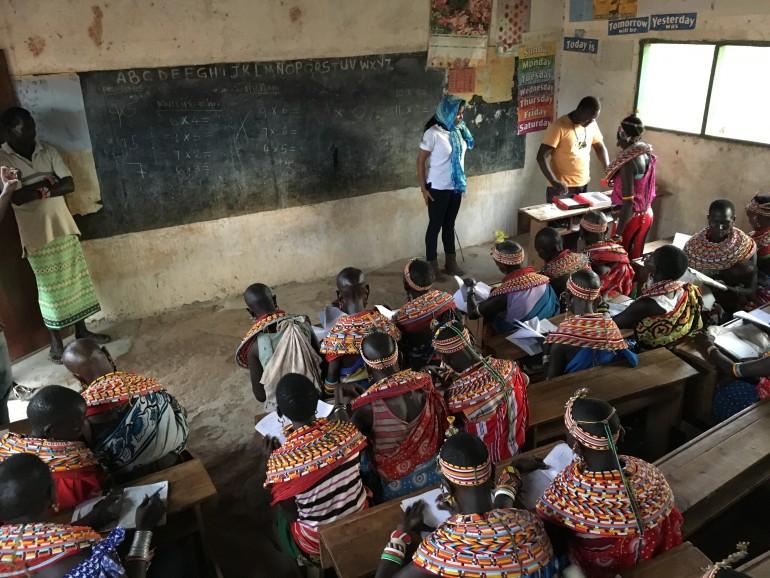 Teaching Samburu women