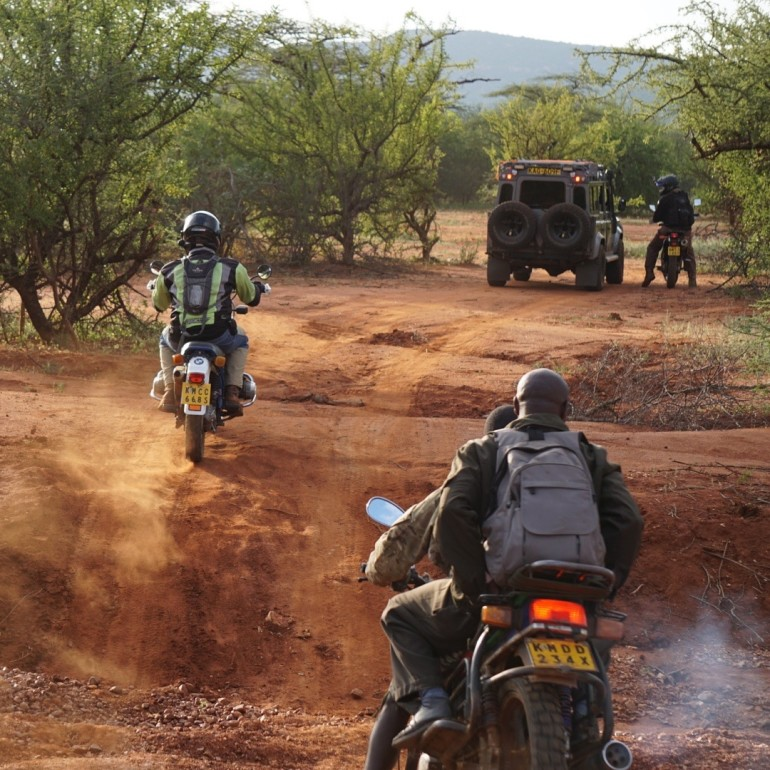 Going offroad in Samburu