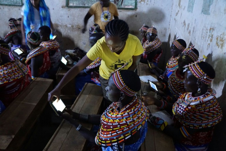 Digital education for Samburu women