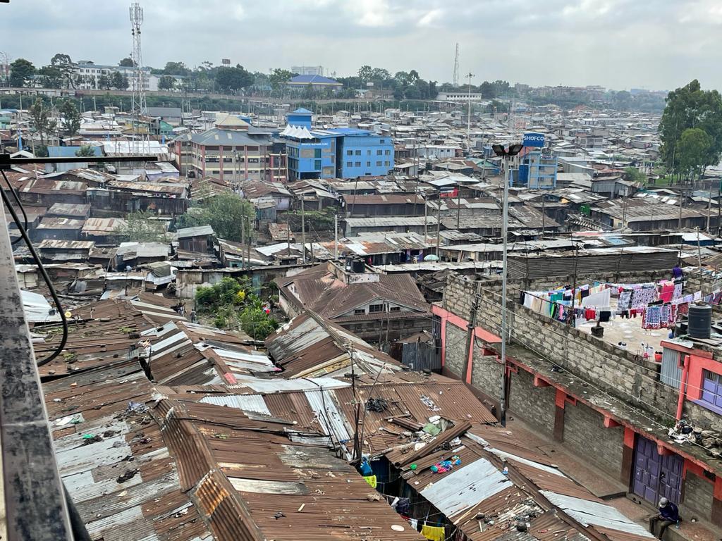SupaMESH WiFi network over Mathare Valley, Nairobi